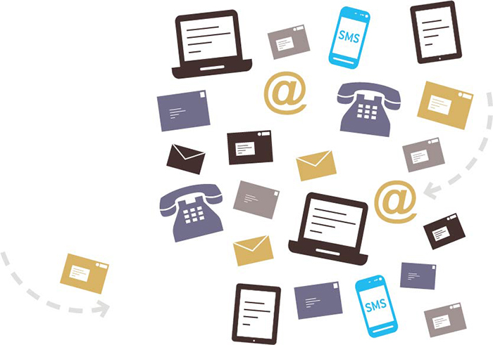 The survey of 280 small and mediumsized firms (SMEs) reveals that over half of SMEs use both physical and digital channels for general correspondence