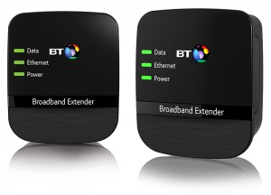 a powerline extender that enables users to get a WiFi signal in any room that has a power socket