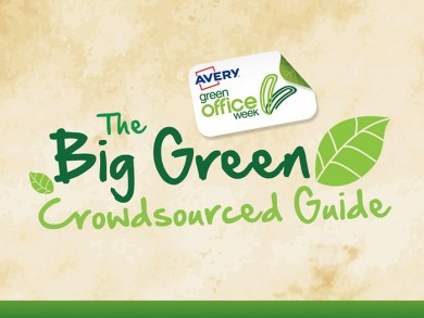 Launch of the UK's fist crowdsourced guide to green working,