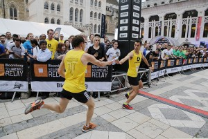 The Bloomberg Square Mile Relay returns to London on September 17