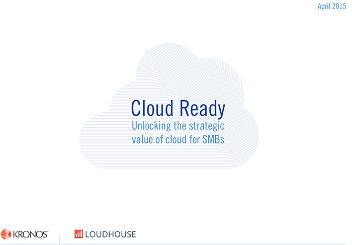 The CloudReady Report reveals that workers today expect technology that supports their preferred way of working