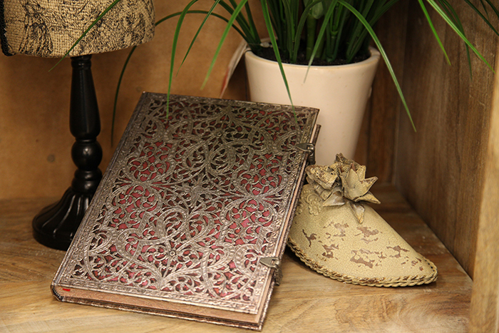 The stunning Silver Filigree Collection of journals from Paperblanks