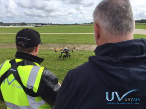UAVAir is a drone training school with CAA approved training courses