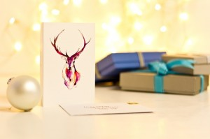 Inkpact can handwrite your Christmas cards and post them for you