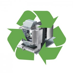 Vivitek will ensure your old lamp is processed at a specialised recycling company, thus avoiding potential environmental damage as a result.