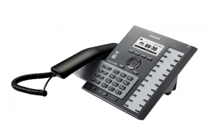 The SCM Compact is a pure IP-based VoIP phone system for 16 to 512 users.