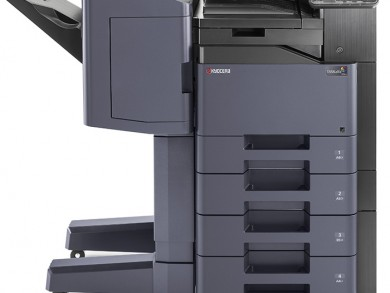 "Nigel Allen said: ""The new products are ideal for organisations with tight budgets that print exclusively in A4, despite needing advanced finishing options."""