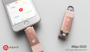 The new iKlips DUO raised more than five times its initial goal of $50,000.