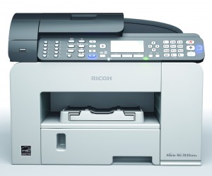 John of J Promotions is very happy he upgraded to an MFP from Ricoh
