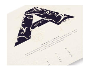The calendar is exclusive to Antalis customers