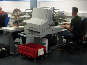 The NHSBSA has purchased 15 OPEX Falcon Document Scanning Workstations