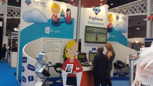 Enghouse Interactive stand