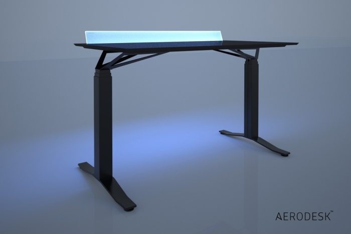 Adjustable Aerodesk