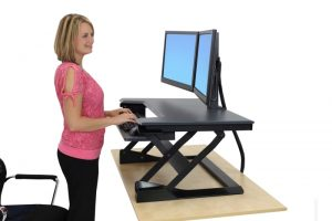 Sit-stand desk