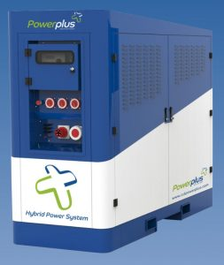 Powerplus three phase colour