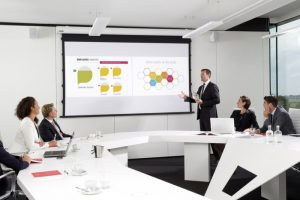 Barco Boardroom Projection
