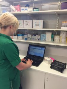 The printers have reduced waiting times for patients, improved accuracy and speeded up the discharge process