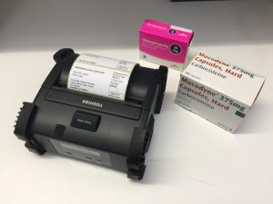 Mobile printing solution from Toshiba TEC