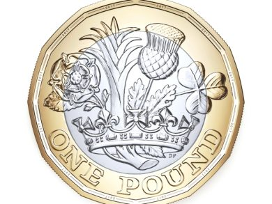 12 sided £1 coin