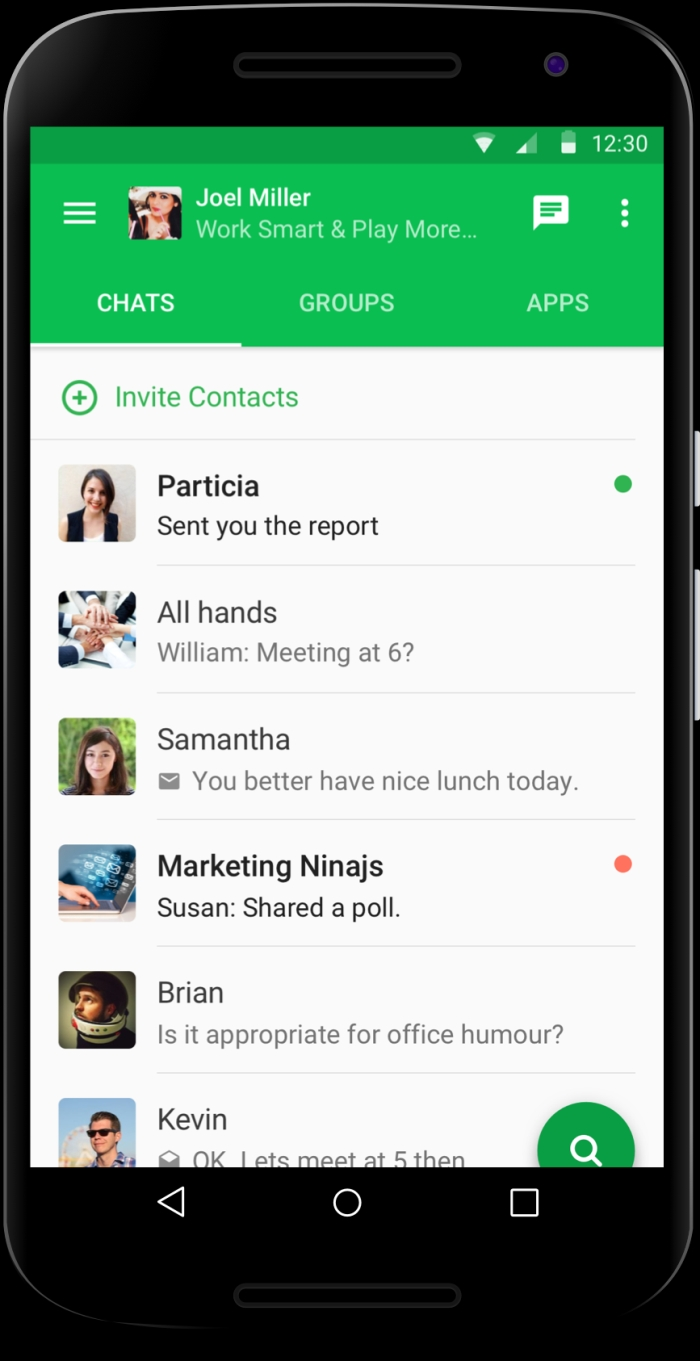 Team communication and collaboration app