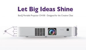 BenQ's Portable Projector CH100