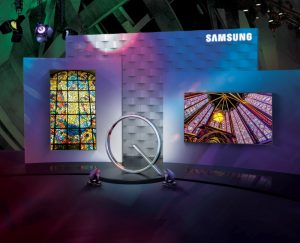 Samsung QLED Signage UHD display