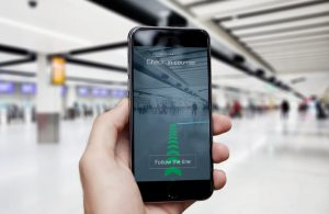 New navigation technology at Gatwick Airport for passengers