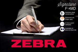 New ZEBRA Signature pen's