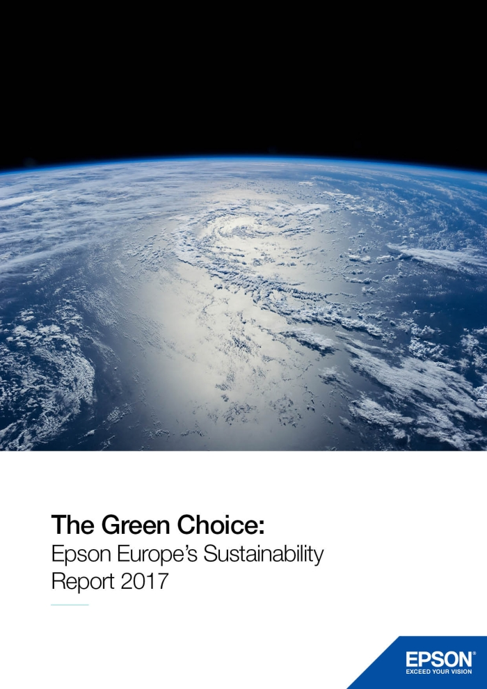 Epson's European Sustainability Report