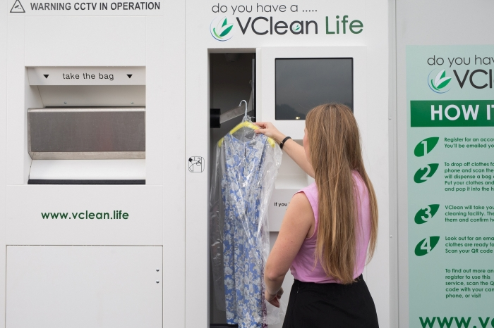 Eco-friendly dry cleaning machine