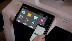 Xerox VersaLink and  AltaLink devices can be enhanced with Xerox ConnectKey apps offering one-touch access to cloud services such as Dropbox, Google Drive and Box