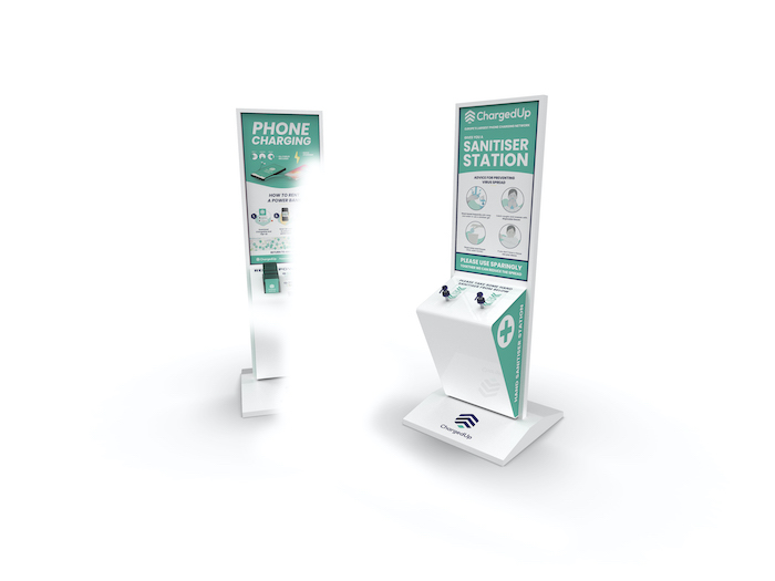 Phone charging station changing