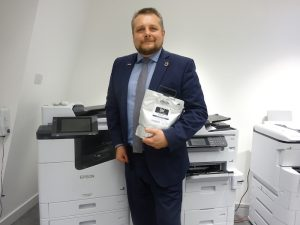 Richard Wells, Head of Sales for |Business, Epson UK